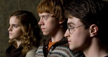 El color del cine - Harry Potter trio